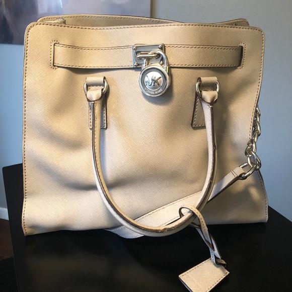 MICHAEL Michael Kors Handbags - Michael Kors Hamilton tote grey